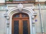 détail de la porte rue Etienne Marcel